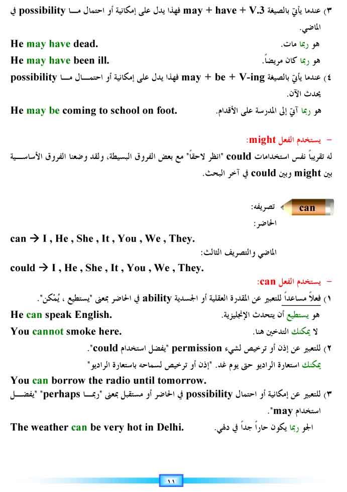 أساسيات اللغة الإنجليزية 5