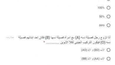 Photo of امتحان الاحياء المتوقع للصف الاول الثانوى دور مايو 2019