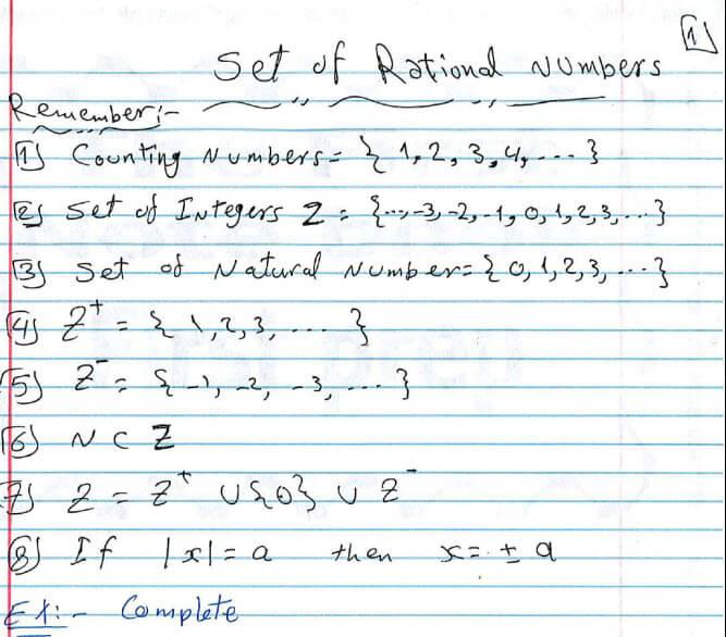 مراجعة algebra الصف الاول الاعدادى