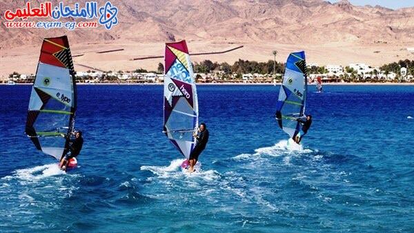 السياحة الرياضية جنوب سيناء