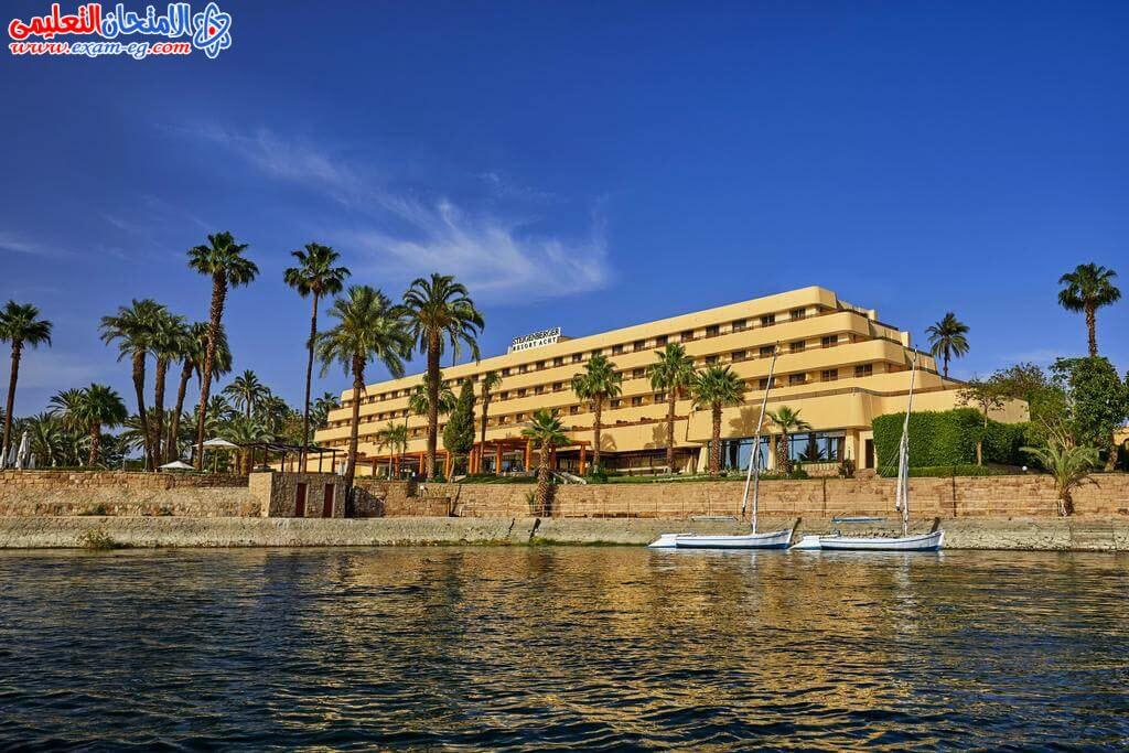 النيل بمدينة الاقصر