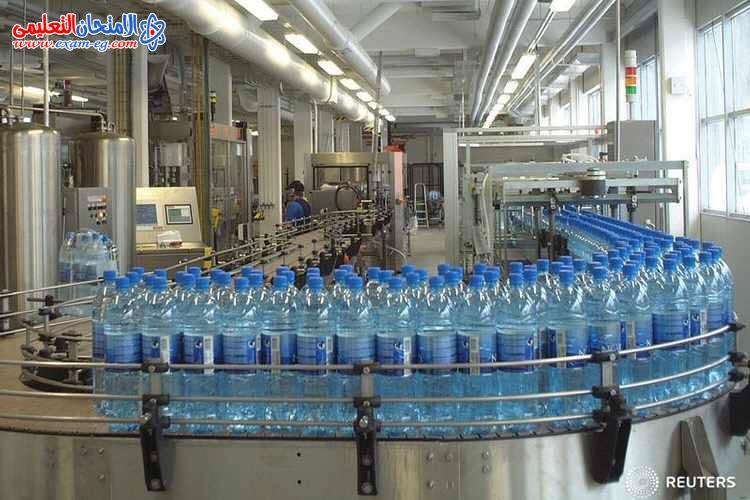 صناعة المنتجات المعدنية بالماء