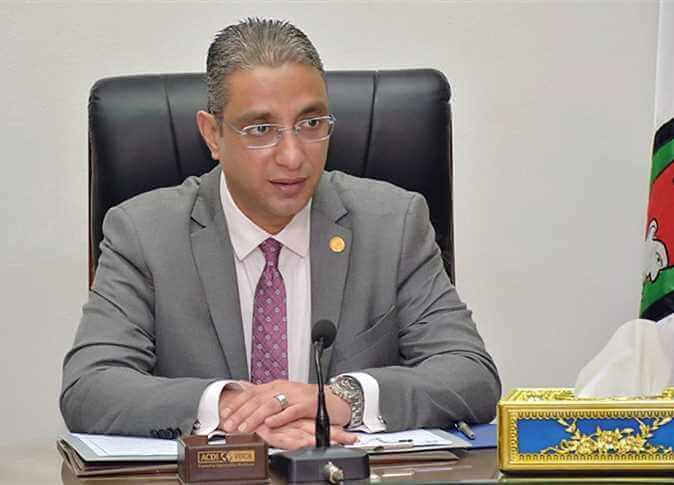 الدكتور احمد الانصارى محافظ الفيوم