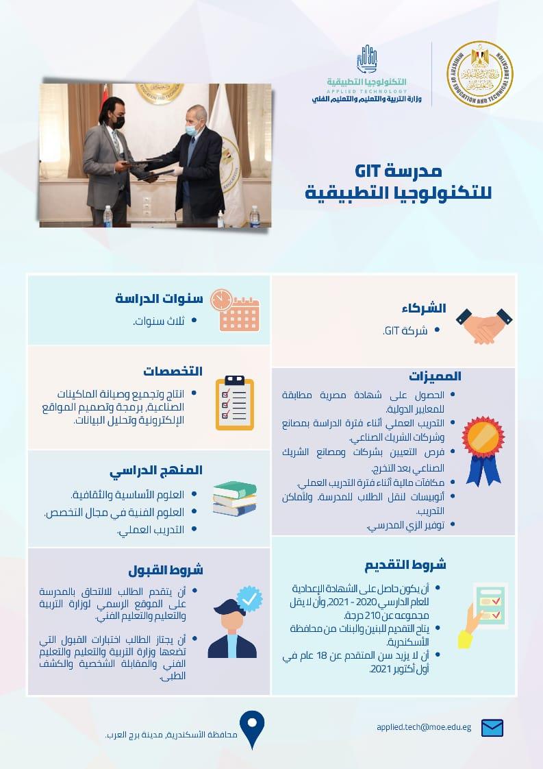 مدرسة GIT للتكنولوجيا التطبيقية