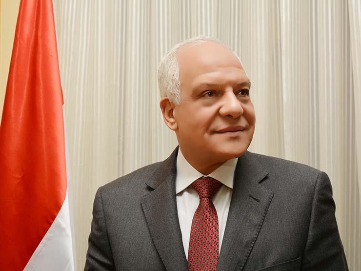 اللواء احمد راشد محافظ الجيزة
